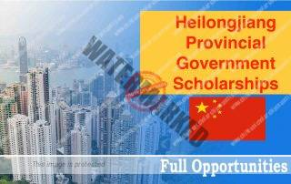 Heilongjiang Provincial Government Scholarships